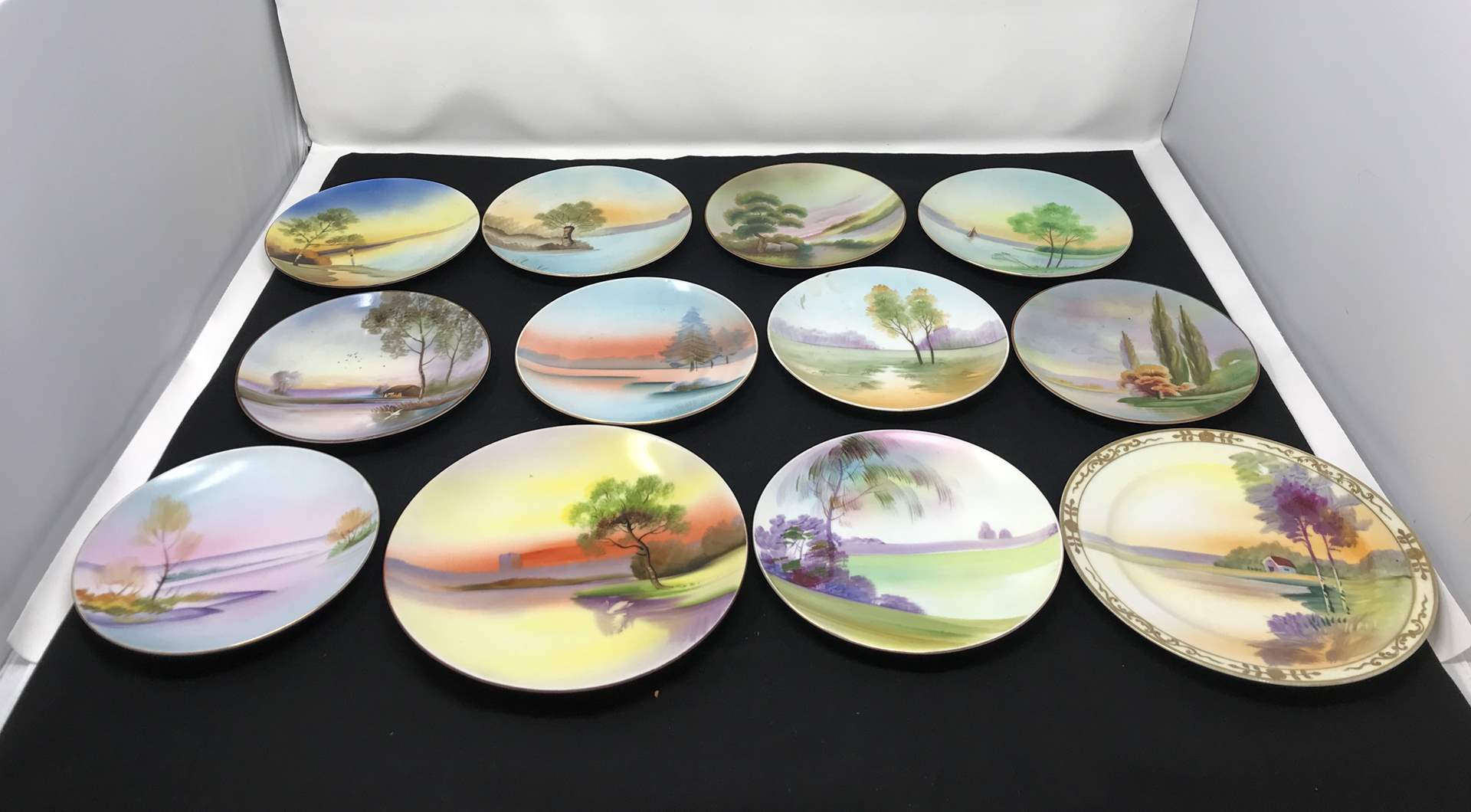 Lot # 23 - Lot of Meito China Hand Painted Plates & More (main image)