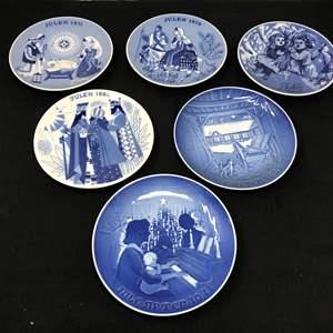 Lot # 24 - Royal Copenhagen Porcelain Plates & Some Porsgrund Norway Collectors Plates
