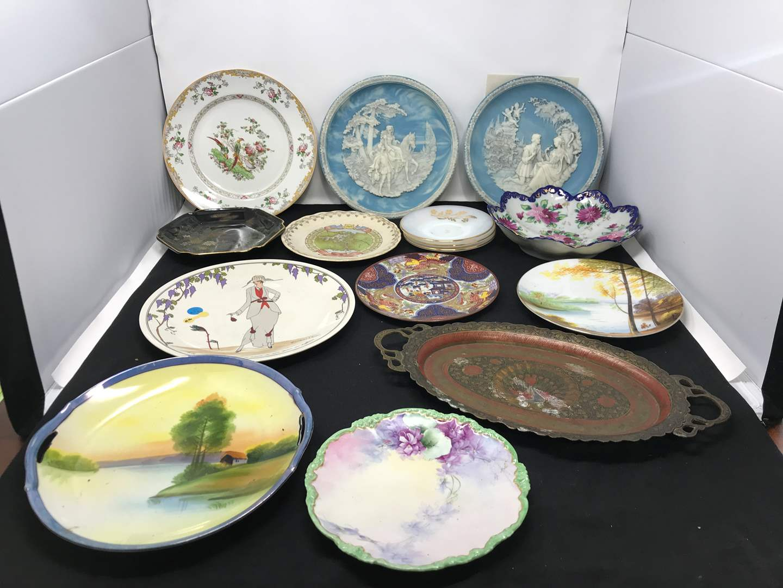 Lot # 27 - Incolay Plates, Noritake Plates & More Collectors Plates (See Photos)  (main image)