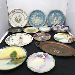 Lot # 27 - Incolay Plates, Noritake Plates & More Collectors Plates (See Photos)