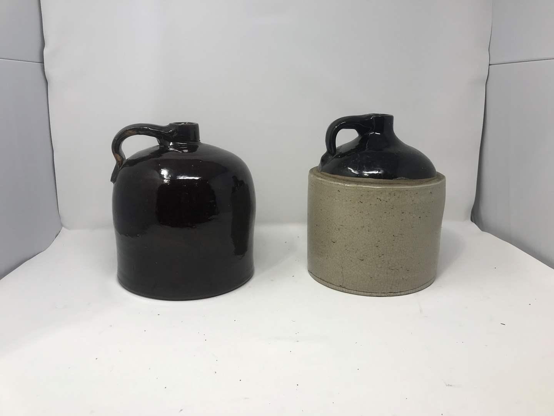 Lot # 102 - 2 Vintage Crocks (main image)