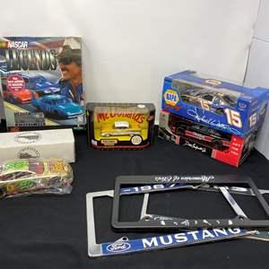 Lot # 6 - McDonald's Matchbox Diecast Car, Diecast NASCAR, Gold Plated Big Mac Diecast & More