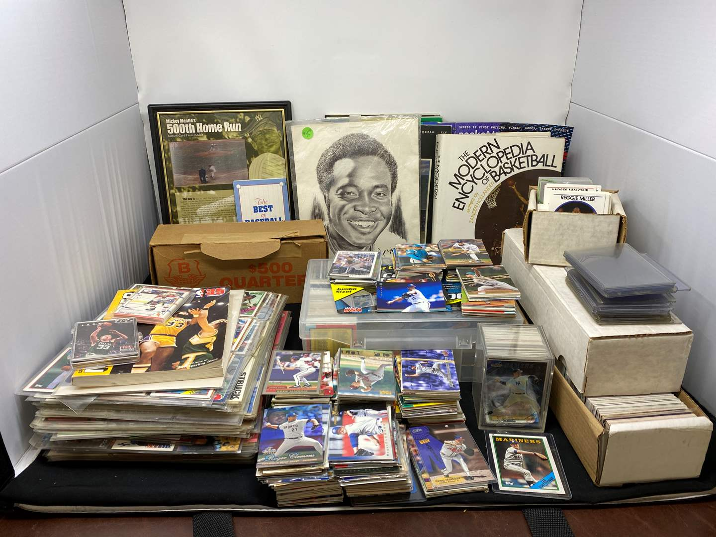 Lot # 11 - Great Collection of Vintage Sports Cards & Other Misc. Trading Cards - (See Photos) (main image)