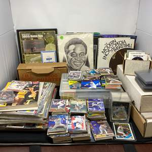 Lot # 11 - Great Collection of Vintage Sports Cards & Other Misc. Trading Cards - (See Photos)