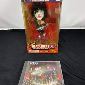 Lot # 14 - New in Box KISS Doll & Music CD