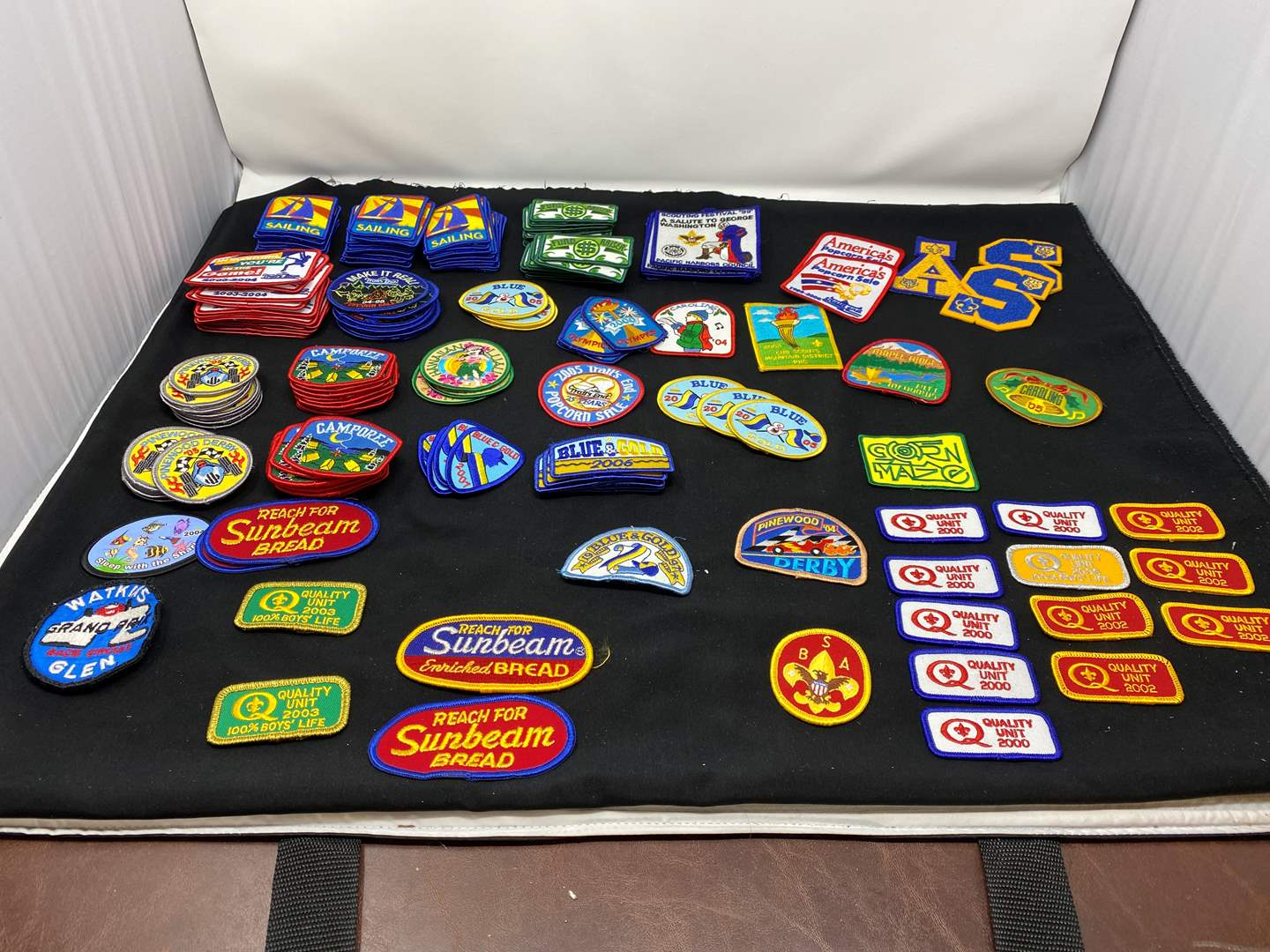 Lot # 16 - Large Selection of Boy Scout Patches (main image)