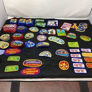 Lot # 16 - Large Selection of Boy Scout Patches
