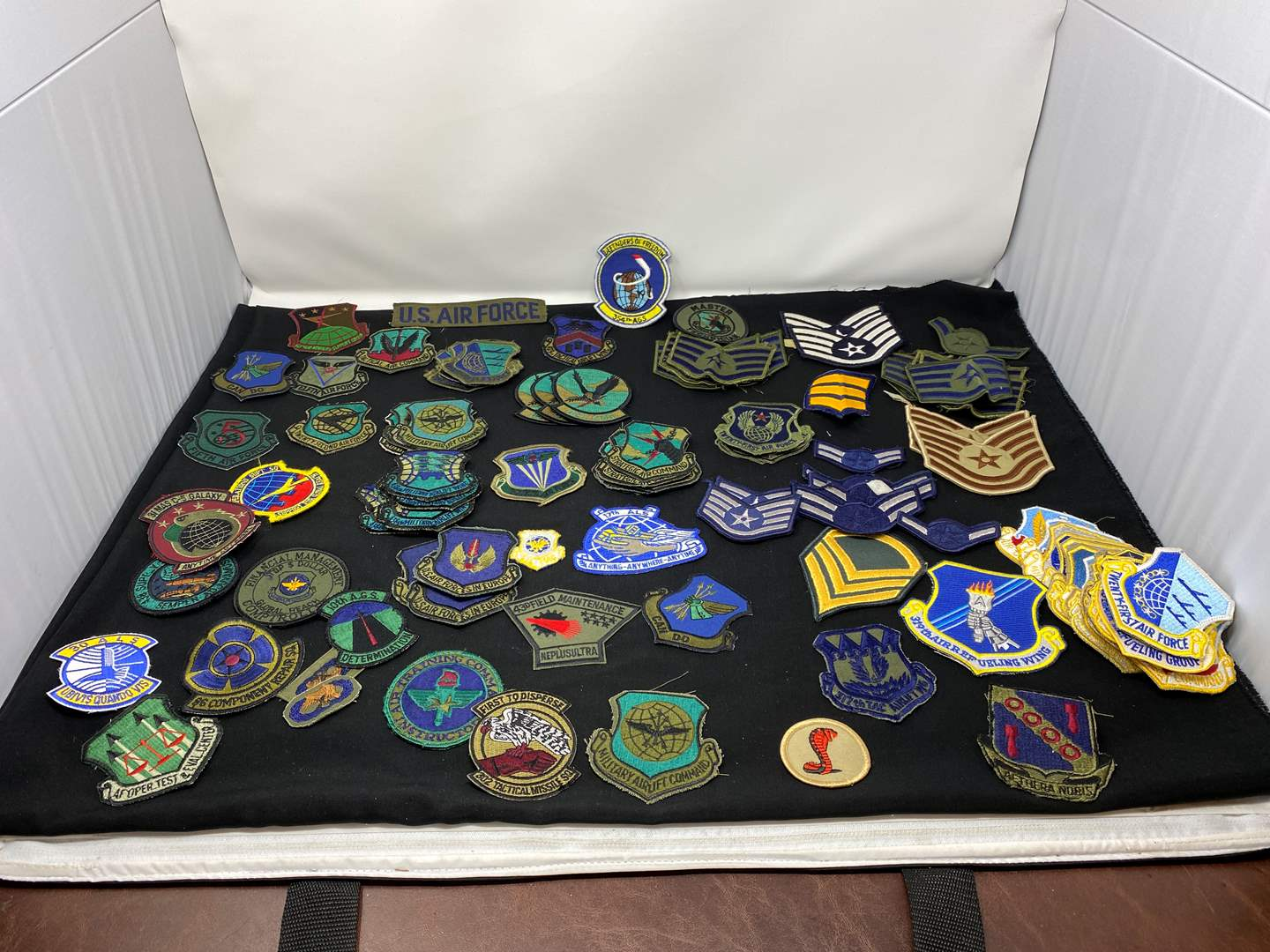 Lot # 17 - Nice Collection of Military Patches (main image)