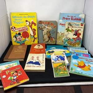 Lot # 18 - Collection of Vintage Children's Books