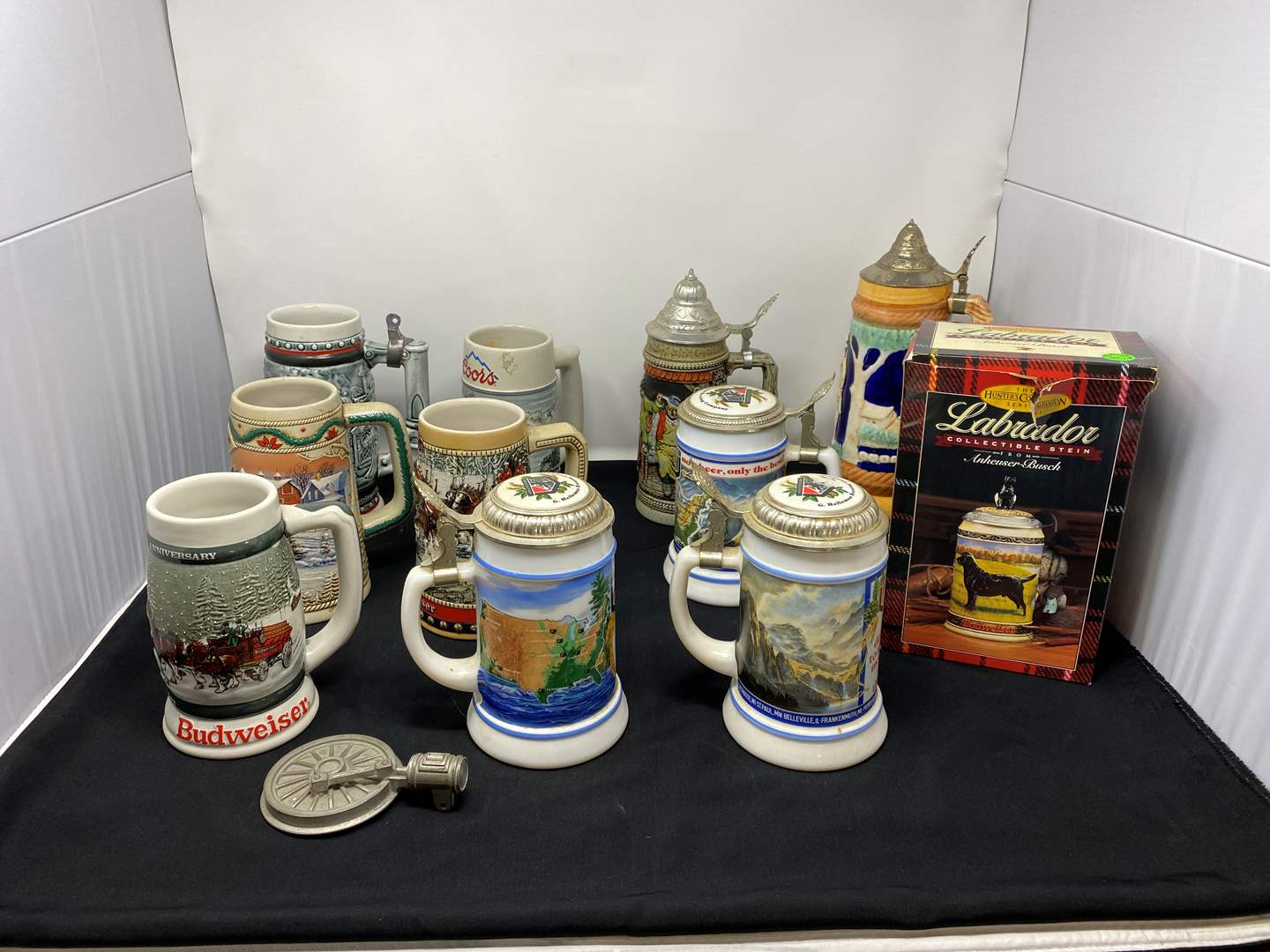 Lot # 41 - Collection of Vintage Beer Steins (main image)
