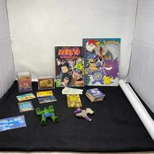 Lot # 43 - Anime Books, Poster, Cards & More