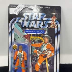 """Lot # 45 - New in Box """"Kenner"""" Star Wars Luke Skywalker X-Wing Pilot"""