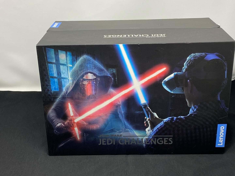 "Lot # 47 - New in Box ""Lenovo"" Star Wars Jedi Challenges VR Game (main image)"