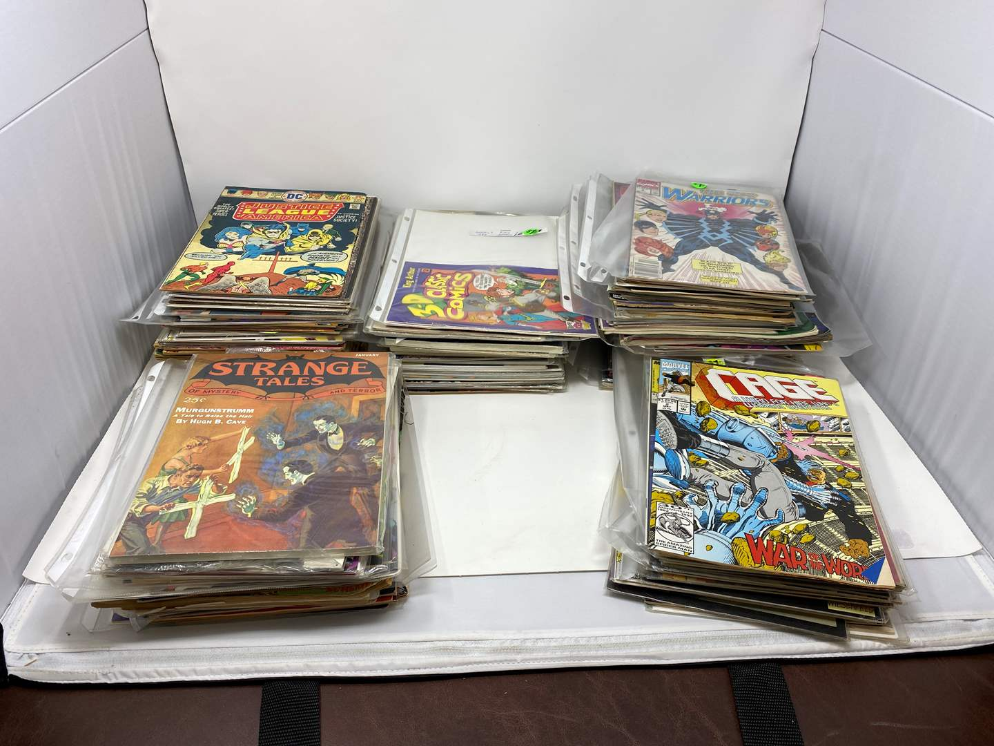 Lot # 48 - Great Collection of Vintage Comic Books & Strange Tales Books - (See Pictures for Titles) (main image)