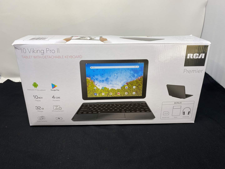 Lot # 52 - Like New RCA Premier Viking Pro II Tablet w/ Keyboard (main image)