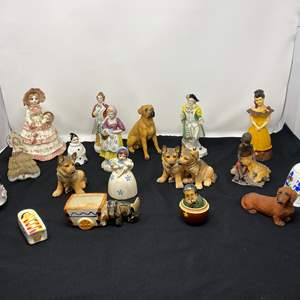 Lot # 53 - Collection of Vintage/Antique Figurines