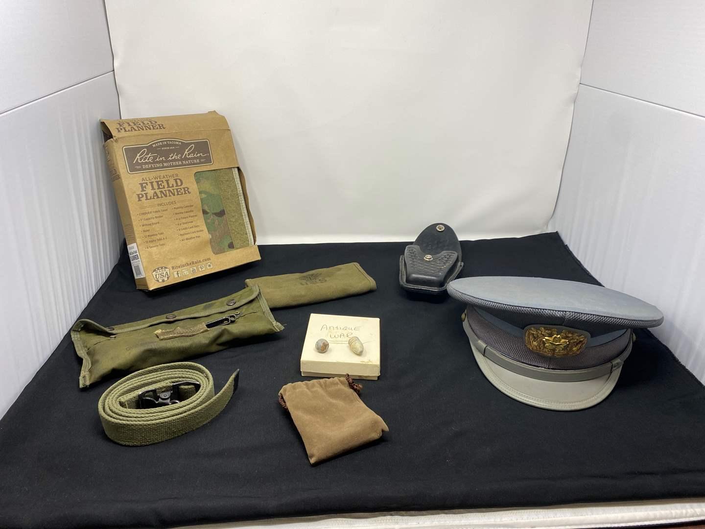 Lot # 63 - Vintage Military Items (main image)