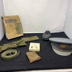 Lot # 63 - Vintage Military Items