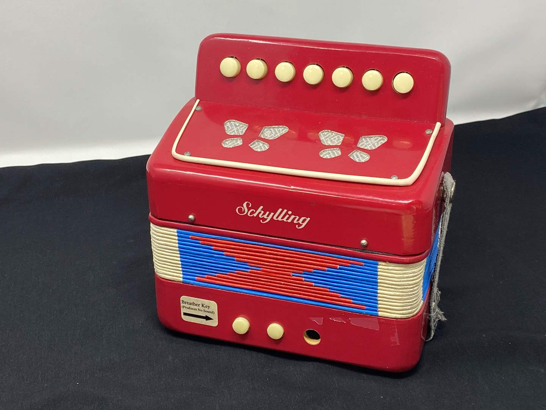 Lot # 65 - Vintage Schylling Child Size Accordion (main image)