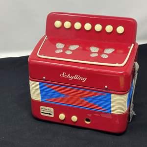Lot # 65 - Vintage Schylling Child Size Accordion
