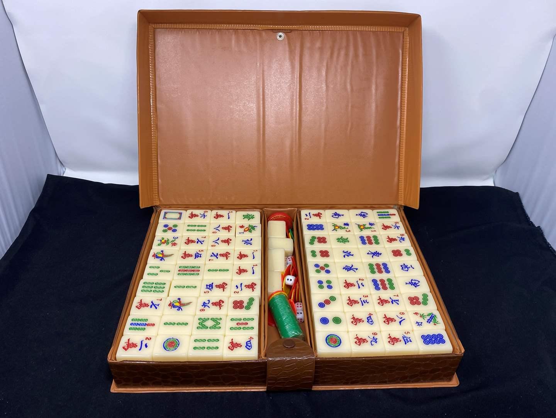 Lot # 67 - Vintage Mahjong Game (main image)