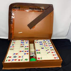 Lot # 68 - Another Vintage Mahjong Game