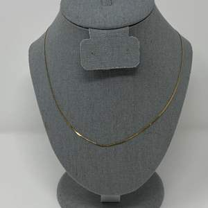 Lot # 76 - 14k Gold Necklace - (Stamped & Tested - 2.11 grams)