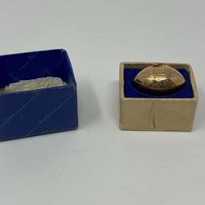 Lot # 86 - 10k Gold 1944 Championship Football Pendant - (Stamped & Tested - 5.83 grams)
