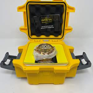 Lot # 87 - Brand New Invicta Reserves Lion Faced Men's Watch w/ Case