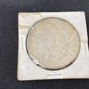 Lot # 95 - 1900 Morgan Silver Dollar - (No Mint Mark)