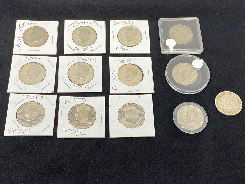 Lot # 99 - Kennedy Half Dollar Collection (main image)