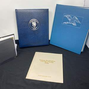 Lot # 122 - George Washington U.S. Mint Stamp Book, First Lady Stamp Book, State Stamp Book & Other Misc. Stamps