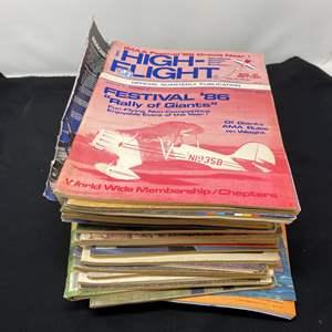 Lot # 136 - Vintage R/C Model Airplane Magazines