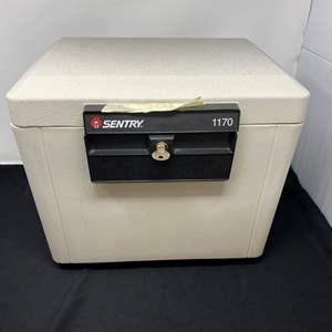 Lot # 140 - Sentry 1170 Fire Safe w/ Two Keys