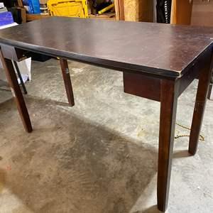 Lot # 141 - Wood Desk