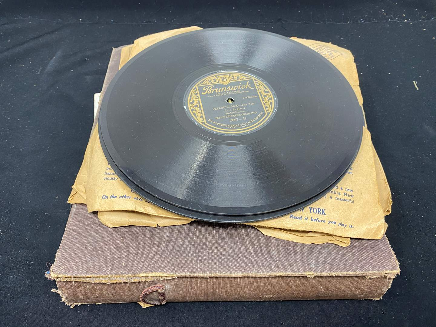 Lot # 150 - Vintage & Antique Records - (See Pictures for Titles) (main image)