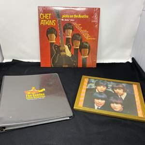 Lot # 158 - Beatles Album, Picture, Beatles Yellow Submarine Collectors Cards