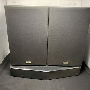 Lot # 160 - Two Yamaha NS-A636 Speakers, Vizio All-in-One Sound System