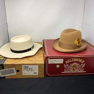 Lot # 166 - Baltimore Hamburg Hat, SL Hat From Nevada