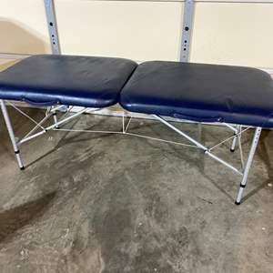 Lot # 189 - Folding Adjustable Massage Table