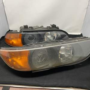 Lot # 195 - Two Headlight Assembly's for a 1999 BMW 5-Series