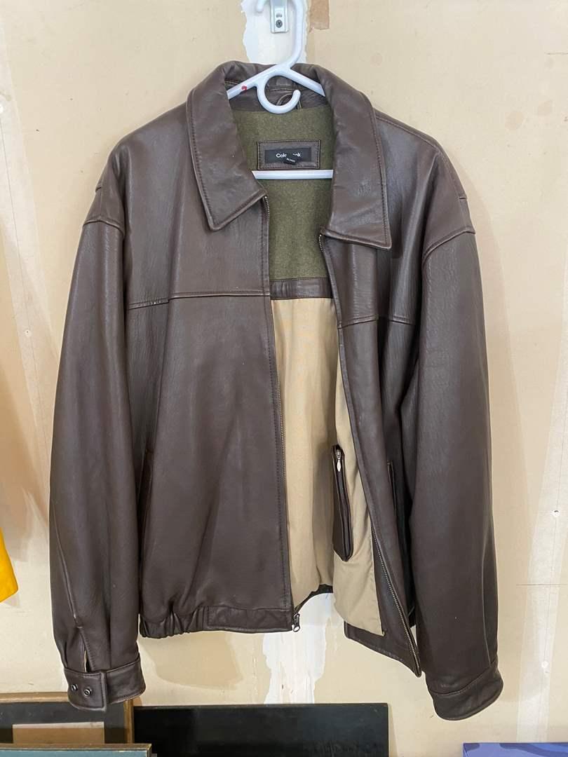 Lot # 202 - Nice Colebrook Leather Jacket - (Size XXL) (main image)