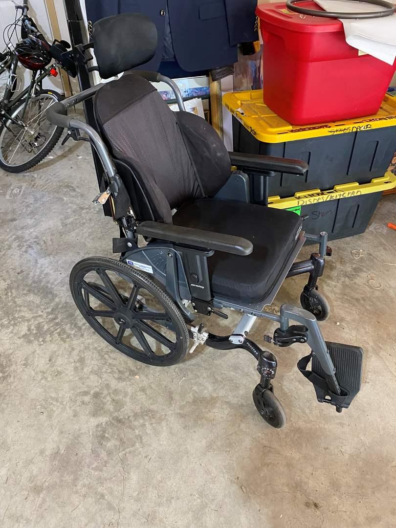 Lot # 213 - CARE FuzeT50 Wheelchair (main image)