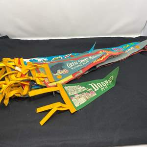 Lot # 56 - Collection of Vintage Pennants