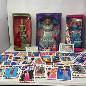 Lot # 116 - Dutch Barbie, Cinderella Doll & Legends of Ireland The Spellbound Lover Barbie