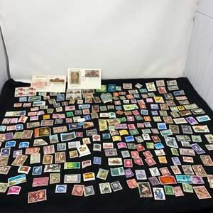 Lot # 123 - Vintage Stamp Collection