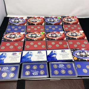Lot # 100D - Uncirculated State Quarter Collection