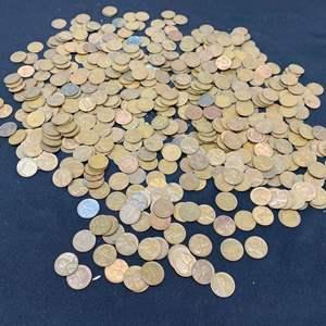 Lot # 100E - Collection of Wheatback Pennies