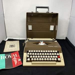 Auction Thumbnail for: Lot # 145 - Vintage Royal Safari Typewriter - (Works)
