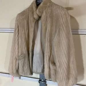 Lot # 191 - Vintage Mink Fur Coat from The Bon Marche - (Size 10)
